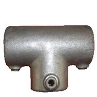"R�r Samle Fittings: Langt T stk. 27 mm 104A 3/4"" - Gel�nder fitting, Clamps"