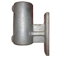 "Gelænder fitting, Clamps: Holder vertikal 42,4 mm 144C 1 1/4"" - Rør samle fittings"