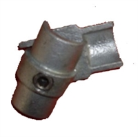 "Gelænder fitting, Clamps: Indvendigt samlestk 42,4 mm 150C 1 1/4"" - Rør samle fittings"