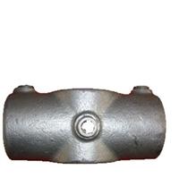 """Gelænder fitting, Clamps: Kryds 2-vejs 48,3 mm 119D 1 1/2"""" - Rør samle fittings"""
