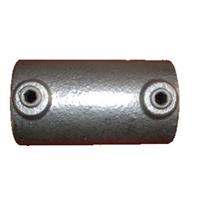 "Gelænder fitting, Clamps: Samlemuffe 48,3 mm 149D 1 1/2"" - Rør samle fittings"