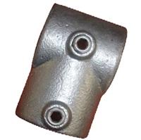 "Gelænder fitting, Clamps: Kort T stk. 60,3 mm 101E 2"" - Rør samle fittings"